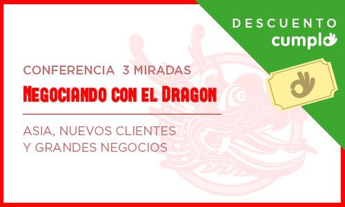 """Noticias Cumplo - Usuarios de Cumplo tendrán descuento en el seminario """"Negociando con el Dragón"""""""