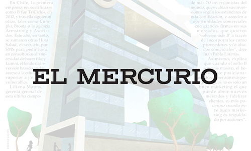 Noticias Cumplo - El Mercurio destaca a Cumplo como Empresa B