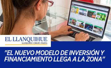 """Noticias Cumplo - Cumplo en el diario El Llanquihue: """"El nuevo modelo de inversión y financiamiento llega a la zona"""""""
