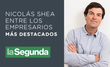 Noticias Cumplo - Nicolás Shea entre los empresarios más destacados