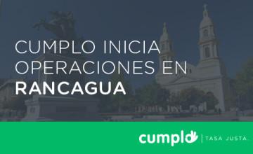Noticias Cumplo - Cumplo inicia operaciones en Rancagua