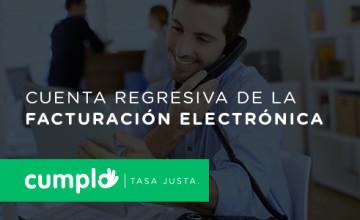 Noticias Cumplo - Cuenta regresiva de la facturación electrónica