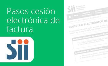 Noticias Cumplo - Pasos para realizar una correcta cesión electrónica de factura