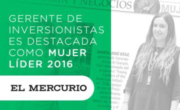Noticias Cumplo - Gerente de Inversionistas es destacada como Mujer Líder 2016
